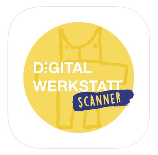 App Store Logo für Digitalwerkstatt Scanner