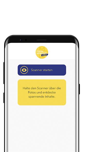 Vorschau der DIGITALWERKSTATT Scanner APP - die App zum Augmented Reality Workshop zum Thema Nachhaltigkeit und Green IT